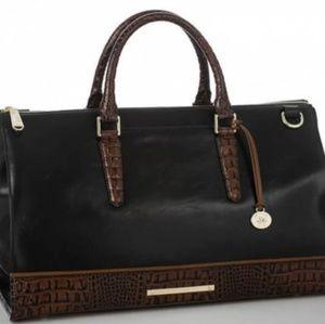 Brahmin Tuscan Leather Weekender